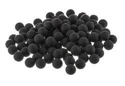 Rubber and metal balls 10 mm / 100pcs