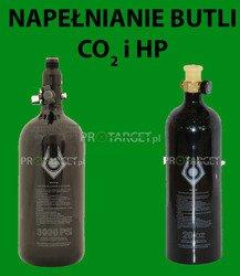 Napełnianie / ładowanie butli CO2 i HP