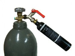 Basic Single Valve CO2 Paintball Fill Station