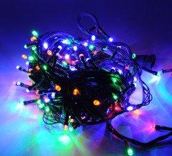 Lampki choinkowe LED 200 multi ZK Ł