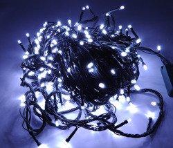 Lampki choinkowe LED 400 białe ZK Ł
