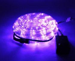 Wąż LED 10m fioletowy Ł