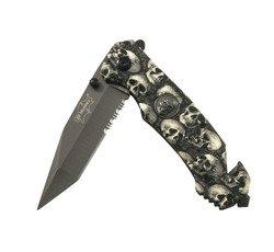 Nóż składany Elf Monkey Skull